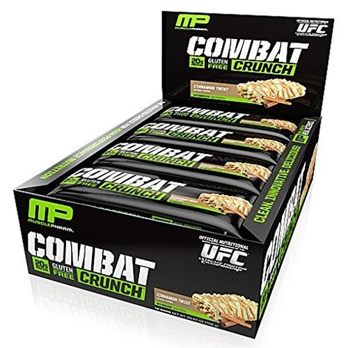 Muscle Pharm - Combat Crunch Bar Cinnamon Twist - 2.22 oz.