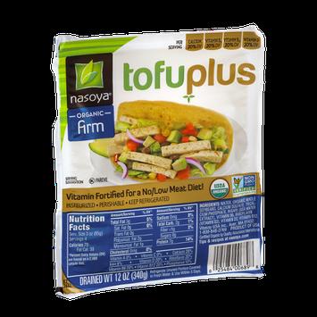 Nasoya Tofu Plus Organic Tofu Firm