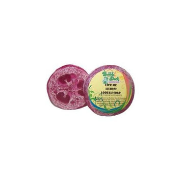 Bubble Shack Hawaii 492773500403 Lick me Lilikoi Loofah Soap - Pack of 2