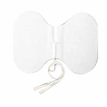 Current Solutions Tens Unit Electrode Pads, White Foamed Backed, 4x6
