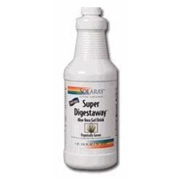 Solaray Super Digestaway Aloe Vera Gel Drink, 32 fl oz