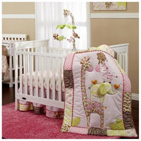 Crown Craft Carter's - Jungle Collection 7 Piece Crib Set