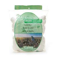 Maxim Hygiene Products Organic Cotton Balls