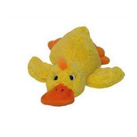 Kyjen PP01131 PipSqueaks Duck Talking Plush Dog Toys Batteries Included, Small, Yellow