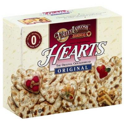 Valley Lahvosh Baking Co. Janet Saghatelian's Original Hearts Crackerbread, 3 oz, (Pack of 6)