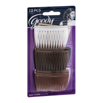 Goody Side Combs - 12 CT