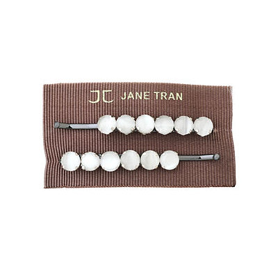 Jane Tran Hair Accessories Acrylic Bead Bobby Pin Set