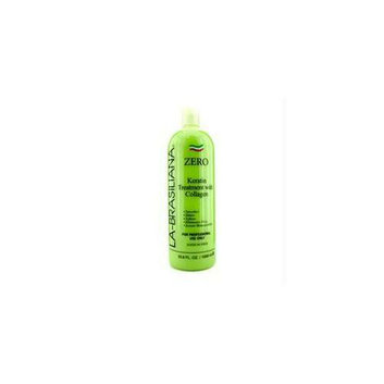 La-brasiliana 14975814244 Zero Apple Keratin Treatment with Collagen - 1000ml-33. 8oz
