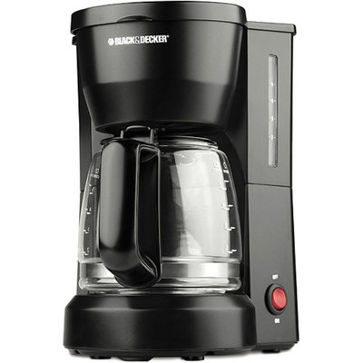 Black & Decker 5-Cup Coffeemaker Model DCM600B