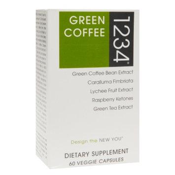 Creative Bioscience 1234 Green Coffee, Veggie Capsules