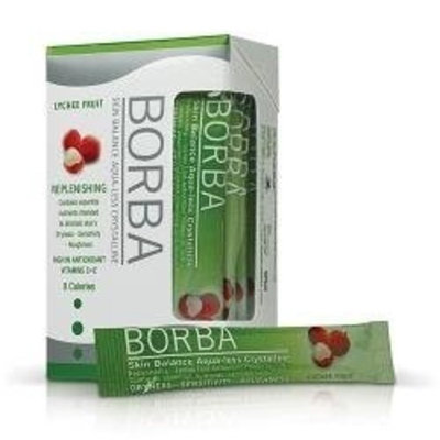 BORBA Replenishing Skin Balance Aqualess Crystalline System, Lychee 14 days