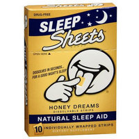 Sheets Natural Sleep Aid Strips