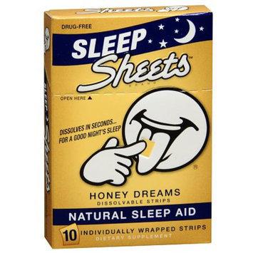 Sheets Natural Sleep Aid Strips