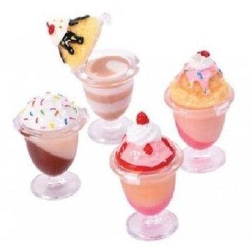 Lil Princess 12 Pc Desert Sundae Lipgloss Party Favors Assortment