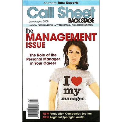 Kmart.com Call Sheet by Backstage Magazine - Kmart.com