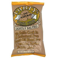 Zapp's Lightly Salted Potato Chips, 2-Ounce Packages (Pack of 25)
