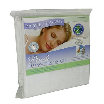 Protect-A-Bed Plush Queen Pillow Protector