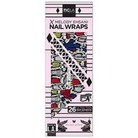 NCLA Nail Wraps, Valentine's Reebok, 1 ea