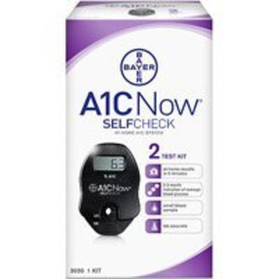 Bayer A1CNOW SELFCHECK 2 TEST 1EA CHEK DIAGNOSTICS (DIABETES)