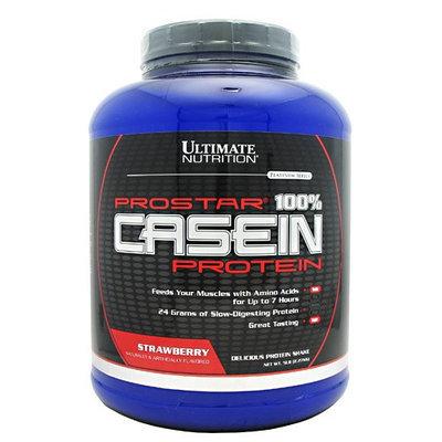 Ultimate Nutrition Platinum Series ProStar 100% Casein Protein Strawberry - 5lb
