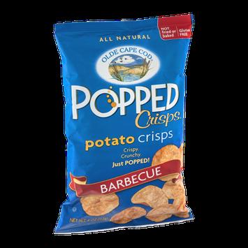 Olde Cape Cod Popped Crisps Potato Crisps Barbecue
