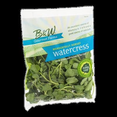 B & W Gourmet Farms Wonderfully Robust Watercress