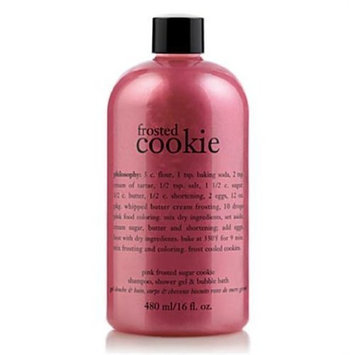 Philosophy Shampoo, Shower Gel and Bubble Bath (Pink Frosted Sugar Cookie)