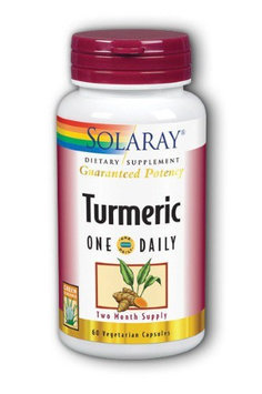 Turmeric One Daily Solaray 60 VCaps