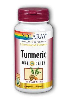 Turmeric One Daily Solaray 60 VCaps