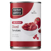 market pantry Market Pantry Chilly Ready Diced Tomatoes - 14.5 oz.