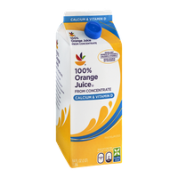 Ahold 100% Orange Juice from Concentrate Calcium & Vitamin D