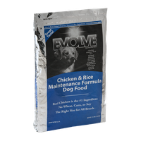 Evolve Dog Food Chicken & Rice Maintenance Formula