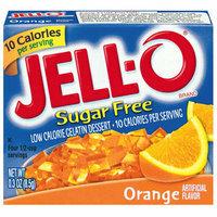 Jell-O : Sugar Free Orange Low Calorie Gelatin Dessert