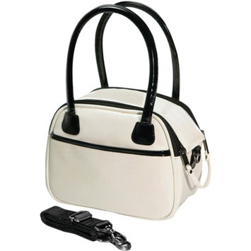 Fujifilm FujiFilm 600009105 Faux Croc Bowler Bags, Off White