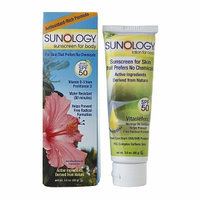 Sunology Natural Sunscreen Lotion SPF 50