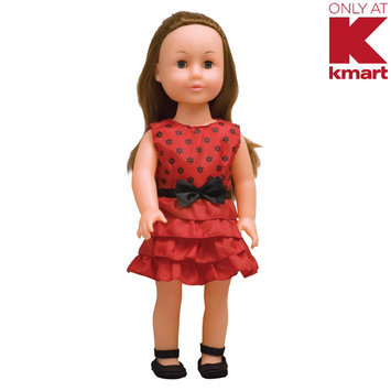 Just Kidz 18 in. Good Kids Doll Blonde with Pink Dress - UNEEDA DOLL COMPANY, INC.