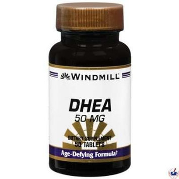 Windmill DHEA 50 mg Tablets 50 Tablets