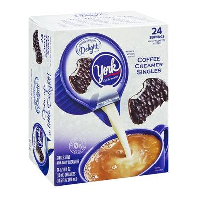 International Delight Coffee Creamer Singles York - 24 CT