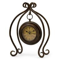 IMAX Iron Hanging Clock with Stand