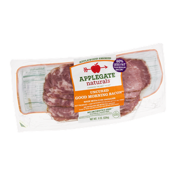 Applegate Naturals Uncured Good Morning Bacon Smoked