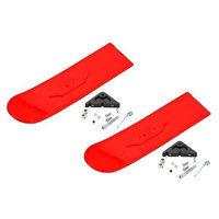 825-R Snowbird Snow Skis Main Red