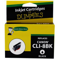 For Dummies - Canon CLI-8 Black Inkjet Cartridge (0620B002AA), Remanufactured