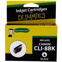 For Dummies - Canon CLI-8 Black Inkjet Cartridge (0620B002AA), Remanufactured