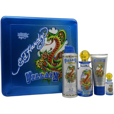 Ed Hardy Villain Men's Gift Set