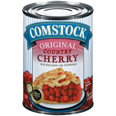 Comstock 4-pk. Original Red Ruby Cherry Pie Filling or Topping 21-oz.