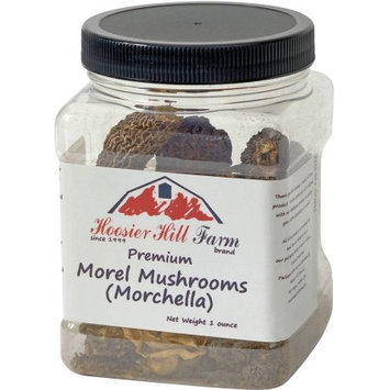 Hoosier Hill Farm Premium Morel Mushrooms, 1 oz