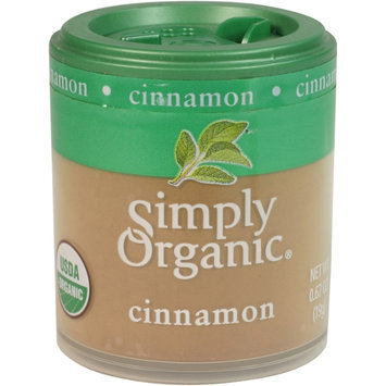 Simply Organic Certified Organic Cinnamon Ground (3% Oil)