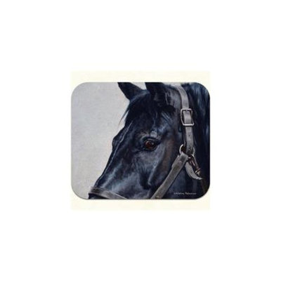 Fiddlers Elbow m998 Black Horse Mouse Pad, Pack Of 2