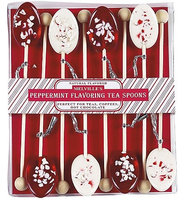 Melville Candy Peppermint Flavoring Spoons Gift Sets: 3 Count