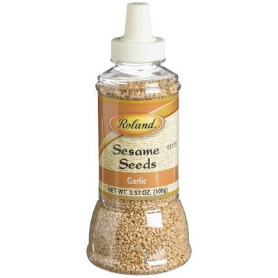 Roland Garlic Sesame Seeds, 3.53-Ounce (Pack of 6)